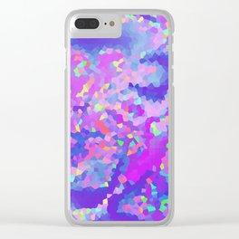 Rainbow fairy tale Clear iPhone Case