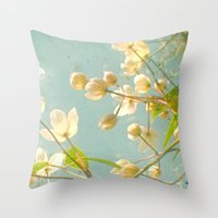 tangled Throw Pillows featuring Tangled by Cassia Beck
