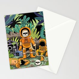 Lost contact Stationery Cards
