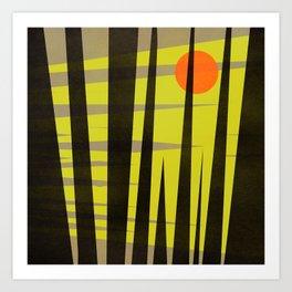 Bright Nite Art Print