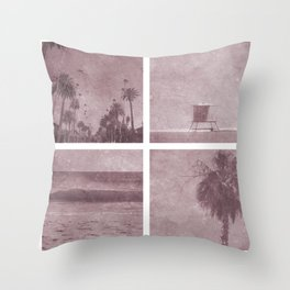 Sunday sun day Throw Pillow