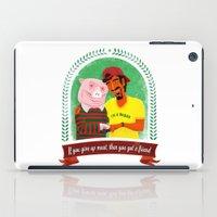 vegan iPad Cases featuring Vegan by Bakal Evgeny