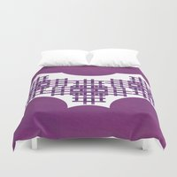 swag Duvet Covers featuring Swag Pattern by Azeez Olayinka Gloriousclick
