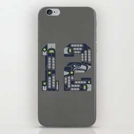 Seattle 12th Man iPhone Skin