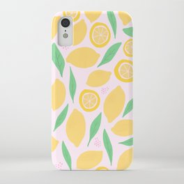 Pink Lemonade II iPhone Case