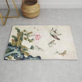 Butterflies and flowers : Minhwa-Korean traditional/folk art Rug