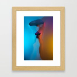 Rainbow Woman Framed Art Print