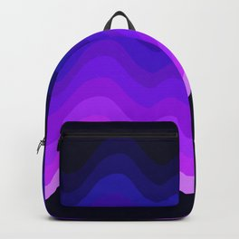 Ultraviolet Retro Ripple Backpack