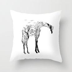 Camelopardalis Throw Pillow
