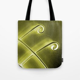 Papillon d'or Tote Bag