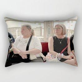 Gaijin in Nagasaki  Rectangular Pillow