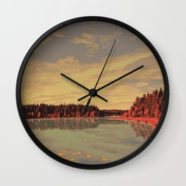 Prince Albert National Park Wall Clock