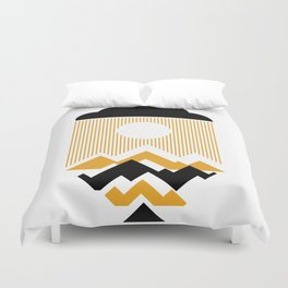 The Day The Sun Disappears Duvet Cover