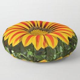 Sunshine Gazania Floor Pillow