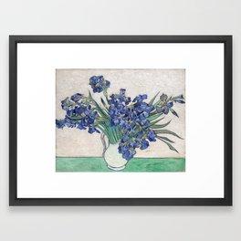 Van Gogh, Irises, 1888 Framed Art Print
