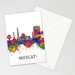 Muscat Oman Skyline Stationery Cards