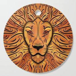 Fiery Lion Cutting Board