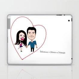 Rebecca Black and Simon Cowell are Friends Laptop & iPad Skin