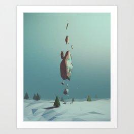 Day 0414 /// Oselo Art Print