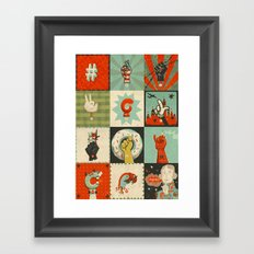 All the SIGNS of a REVOLUTION Framed Art Print