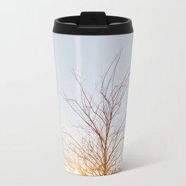 Tree in Light Metal Travel Mug