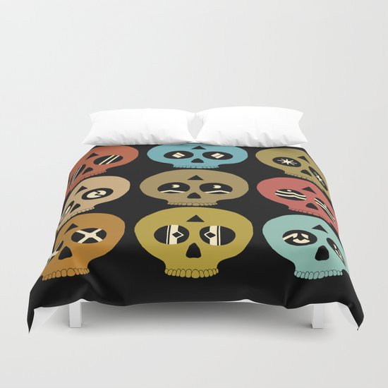 I See Dead People Duvet Cover