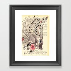 Day of the Dead - She Framed Art Print