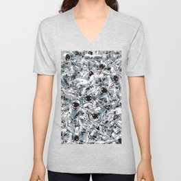 Crowded Space Unisex V-Neck