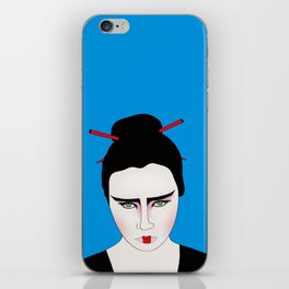 Grumpy Geisha // Japanese Style iPhone Skin
