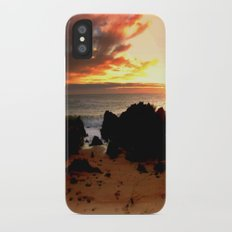 Ocean Sunrise iPhone X Slim Case
