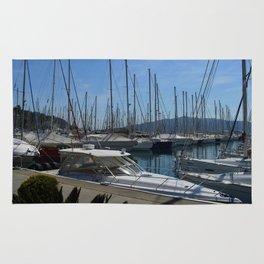 Netsel Yacht Marina Marmaris Turkey Rug