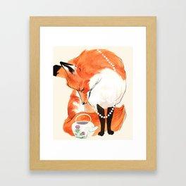 Velma's Teapot Framed Art Print