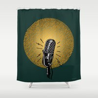 One, two, three... Shower Curtain
