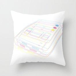 SNES Gaming Throw Pillow