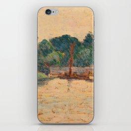 ALFRED WILLIAM FINCH, COASTAL VIEW. iPhone Skin