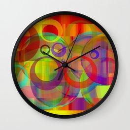 Cracy meeting Wall Clock