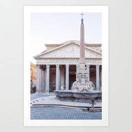 Pantheon - Rome Italy Travel Photography Art Print