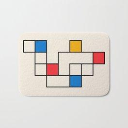 Bauhaus Blocks Bath Mat