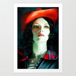 SALLY PORCELAIN #2 Art Print