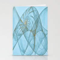 shell Stationery Cards featuring Shell by Susann Mielke