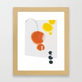Lemon and Tangerine I Framed Art Print