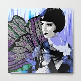 Louise Brooks:  We'll Always Have Paris Metal Print