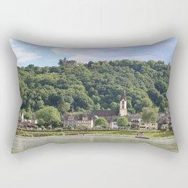 Burg Osterspai am Rhein Rectangular Pillow