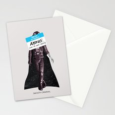 Smooth Criminal Stationery Cards