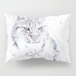 Wild Cat Pillow Sham