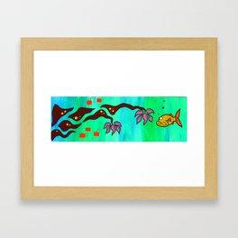 Say Somethin' Framed Art Print