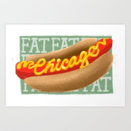 Chicago, Illinois  Art Print