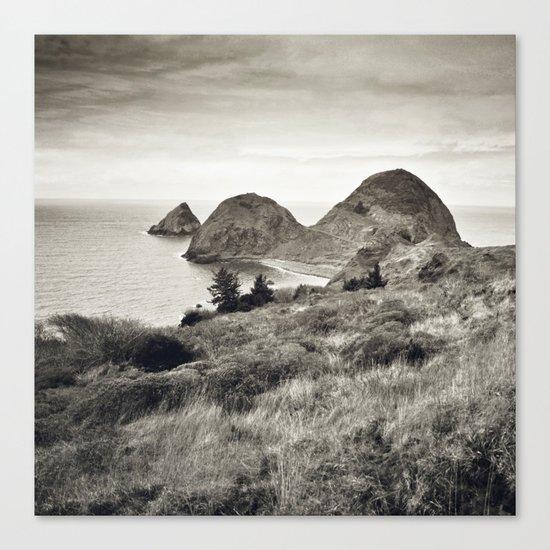 ... L'île du bout du Monde II ... Canvas Print