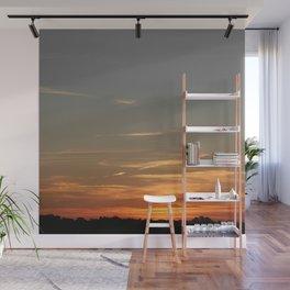 Peaceful sunset Wall Mural