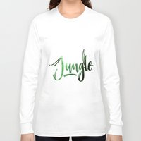 jungle Long Sleeve T-shirts featuring Jungle by Insait
